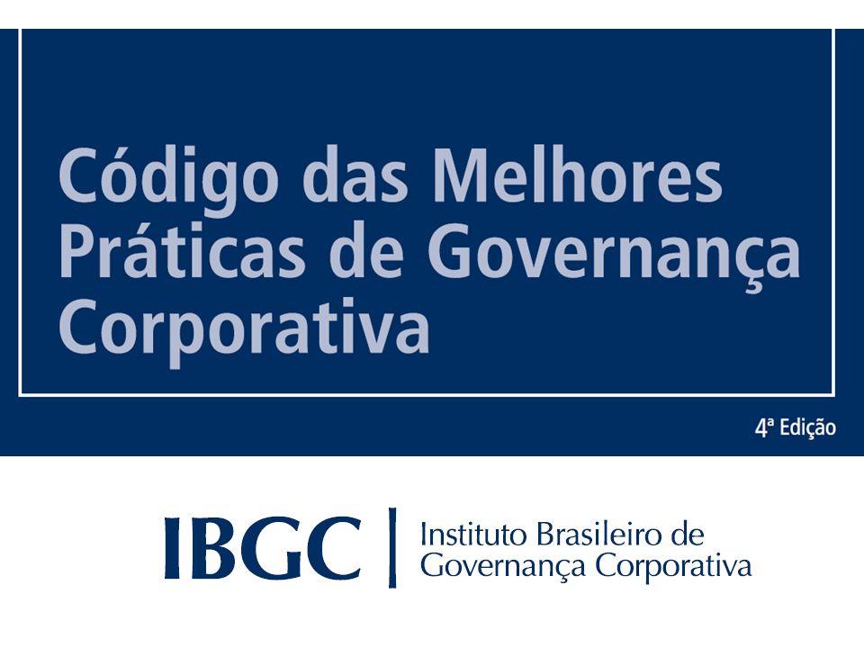 © IBGC © www.demostenesfarias.wordpress.com Código das Melhores Práticas de GC Documento contendo recomendações do IBGC, visando a contribuir para criação de sistemas de governança corporativa, e a estruturação de ambientes organizacionais sólidos, justos, responsáveis e transparentes.