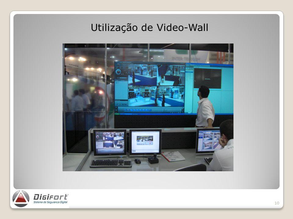 Utilização de Video-Wall 10