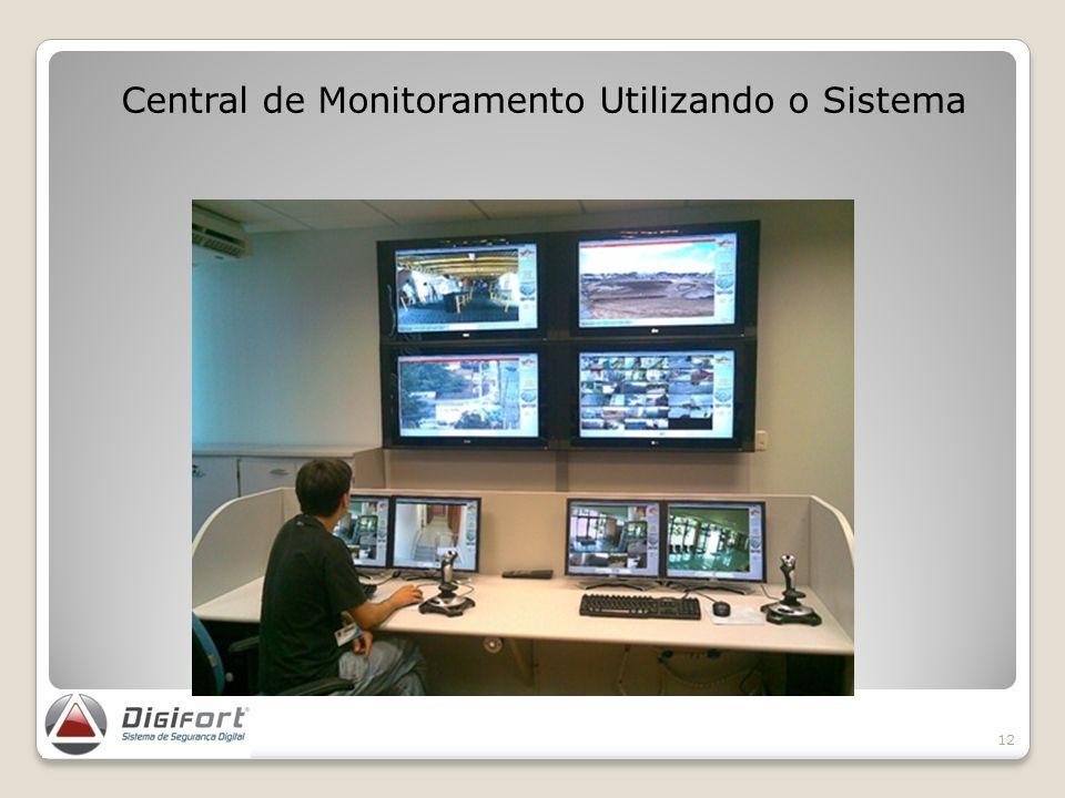Central de Monitoramento Utilizando o Sistema 12