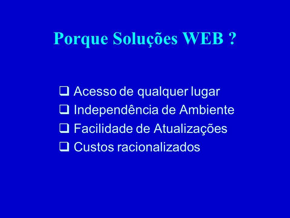 Porque Soluções WEB .