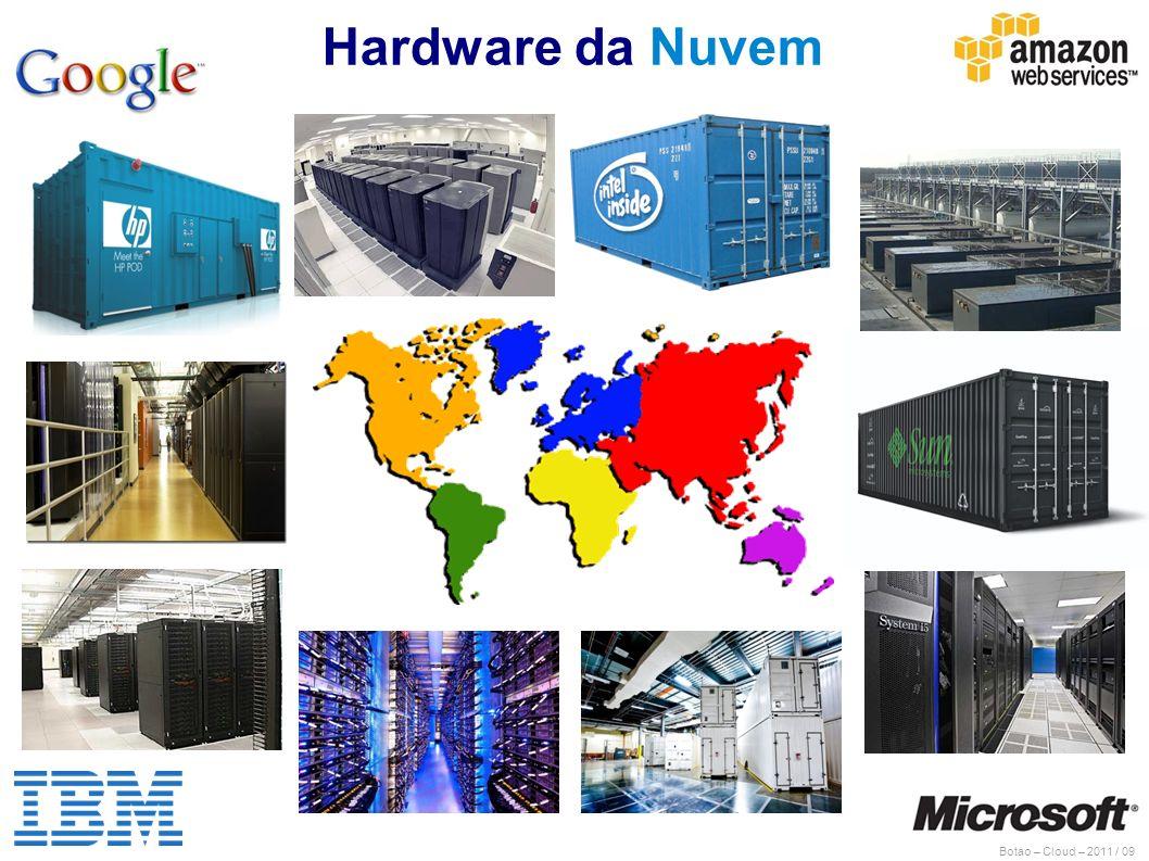 Botao – Cloud – 2011 / 09 Hardware da Nuvem