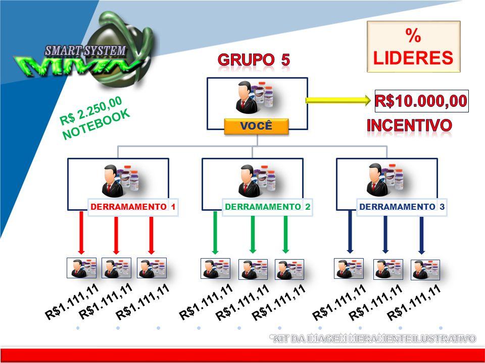 www.company.com KITKKKKKKKIT RR VOCÊ DERRAMAMENTO 1 DERRAMAMENTO 2 DERRAMAMENTO 3 R$1.111,11 R$ 2.250,00 NOTEBOOK % LIDERES