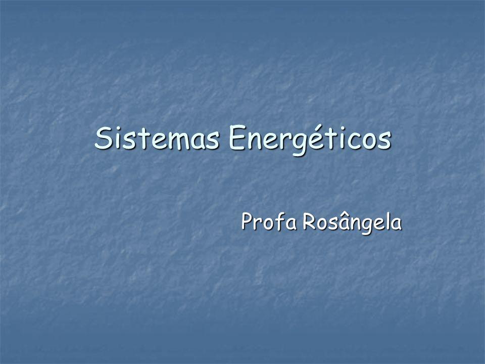 Sistemas Energéticos Profa Rosângela
