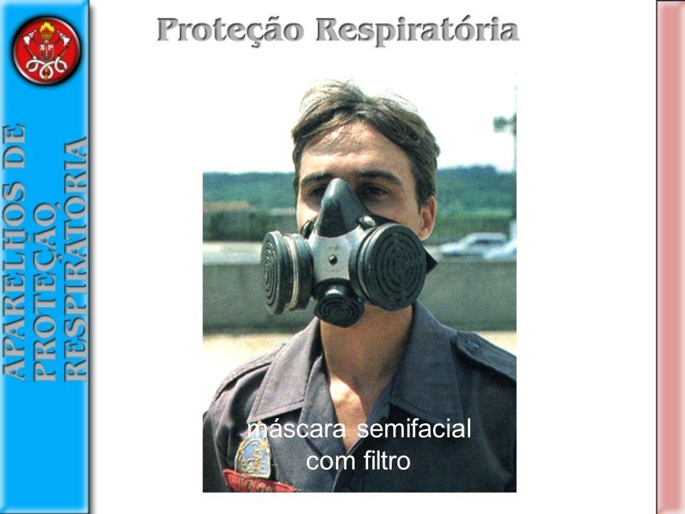 máscara semifacial com filtro