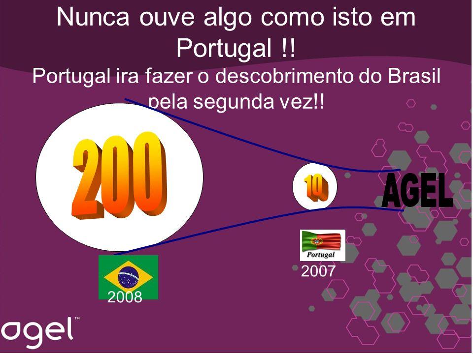 Nunca ouve algo como isto em Portugal !! Portugal ira fazer o descobrimento do Brasil pela segunda vez!! 2008 2007