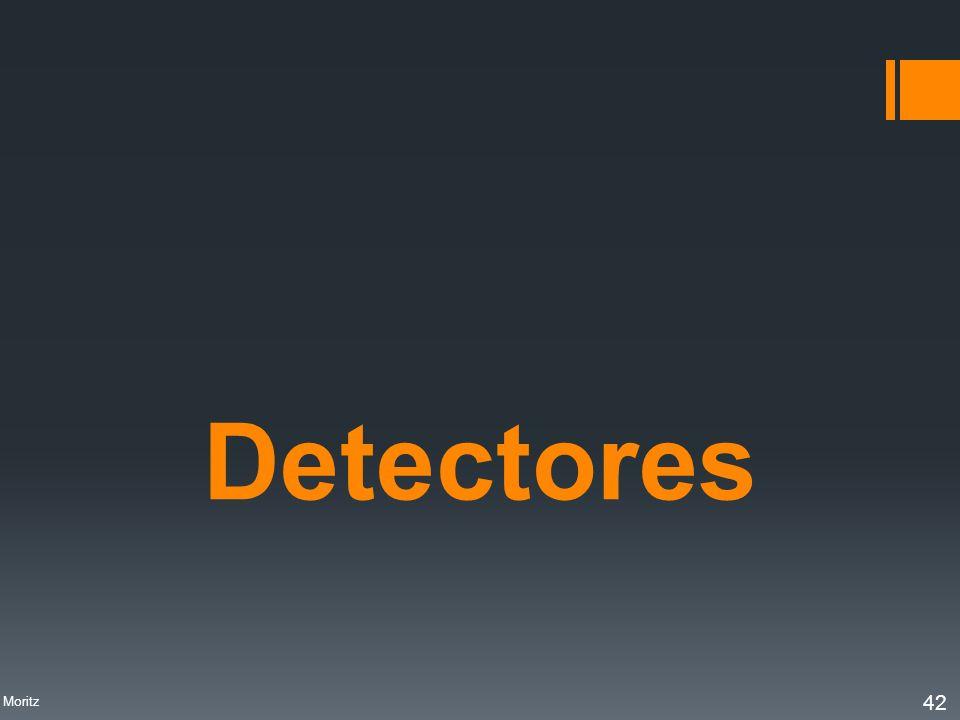 Profa. Denise Moritz 42 Detectores