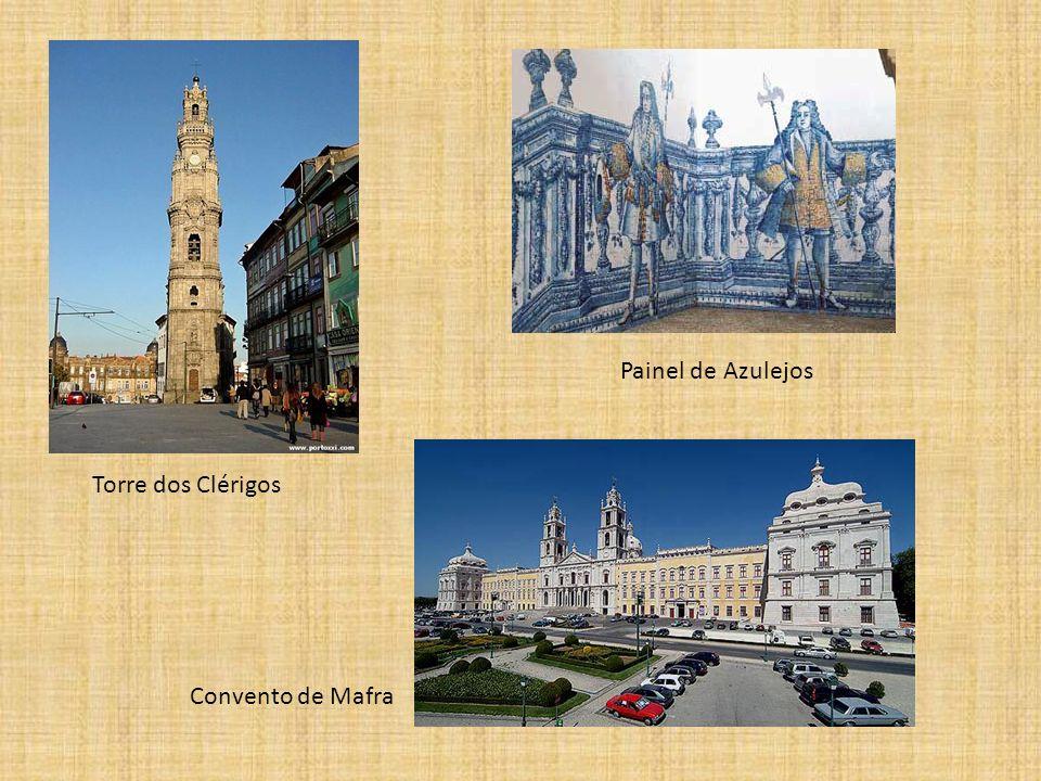 Torre dos Clérigos Painel de Azulejos Convento de Mafra