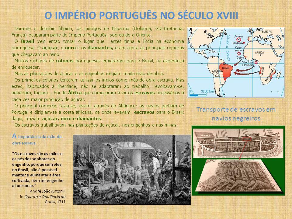 Durante o domínio filipino, os inimigos de Espanha (Holanda, Grã-Bretanha, França) ocuparam parte do Império Português, sobretudo a Oriente. O Brasil