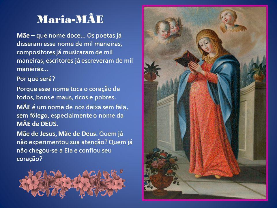 Jesus vê na vontade da Mãe que queria alegrar a festa, a vontade do Pai.