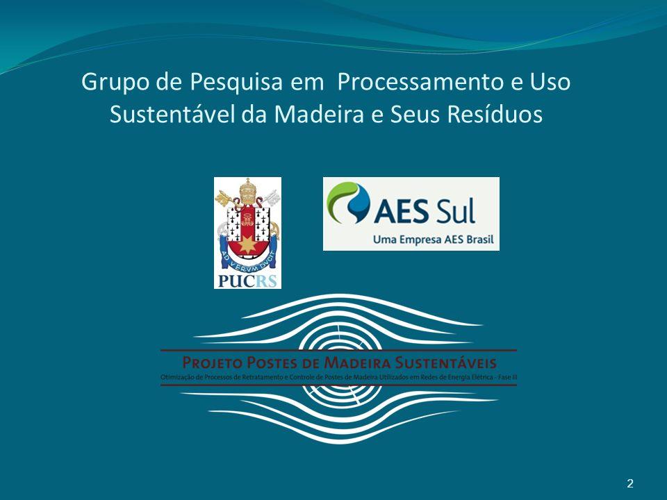 2 Grupo de Pesquisa em Processamento e Uso Sustentável da Madeira e Seus Resíduos 2