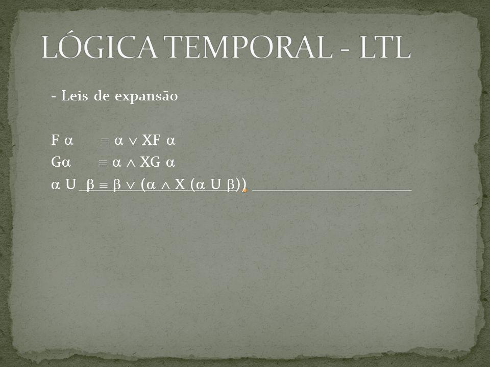 - Leis de expansão F XF G XG U ( X ( U ))