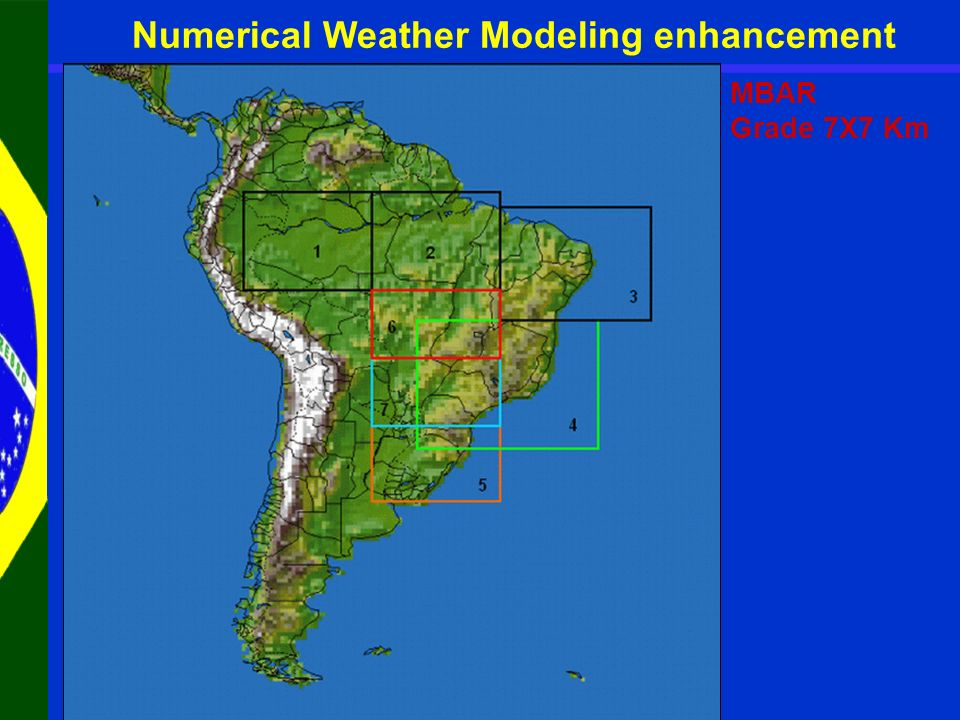 MBAR Grade 7X7 Km Numerical Weather Modeling enhancement