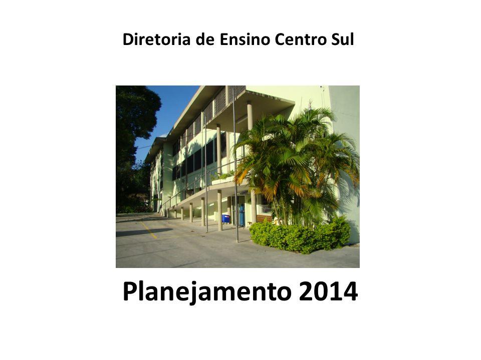 Planejamento 2014 Diretoria de Ensino Centro Sul