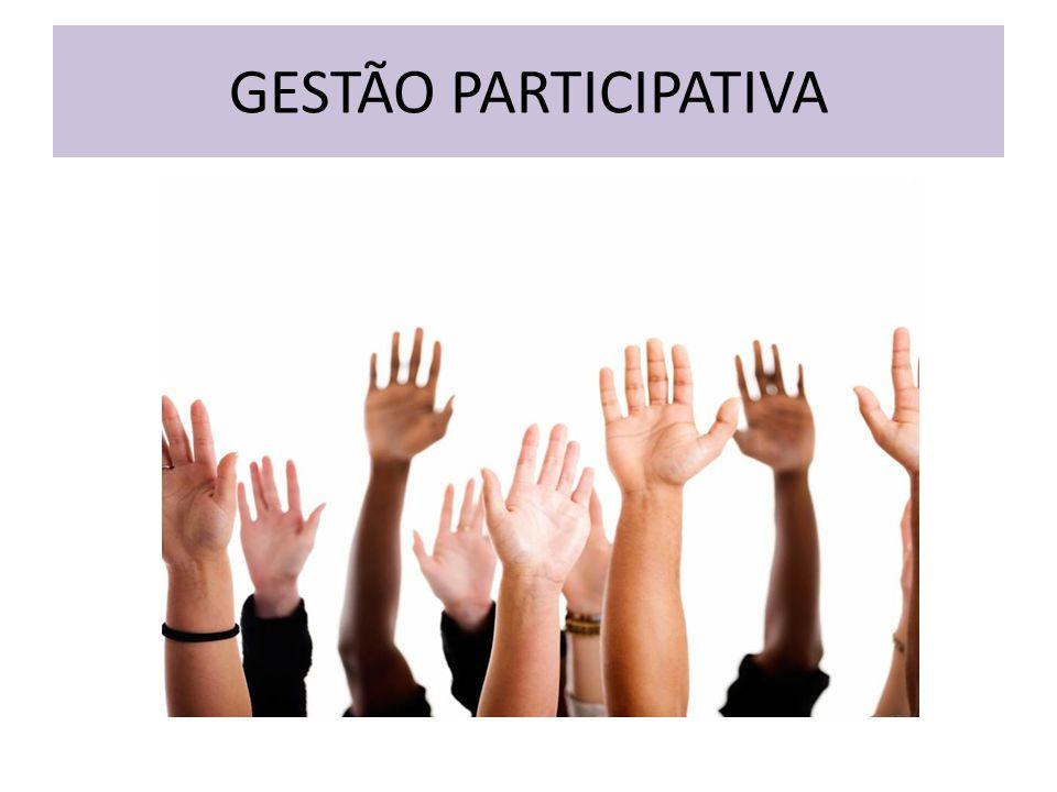 GESTÃO DE PESSOAS GESTÃO PARTICIPATIVA