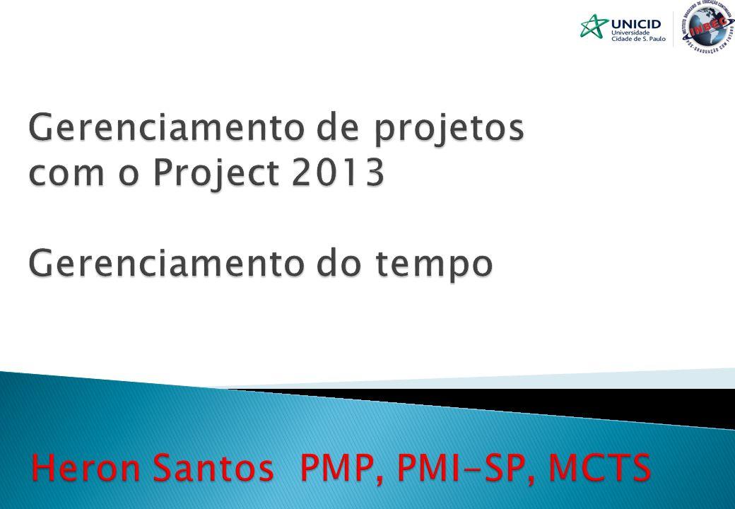 Heron Fabio Santos Engenheiro Civil pela UFPe Trabalhei com TI durante 10 anos, Trabalho com de Gerenciamento de projetos a mais de 11 anos.