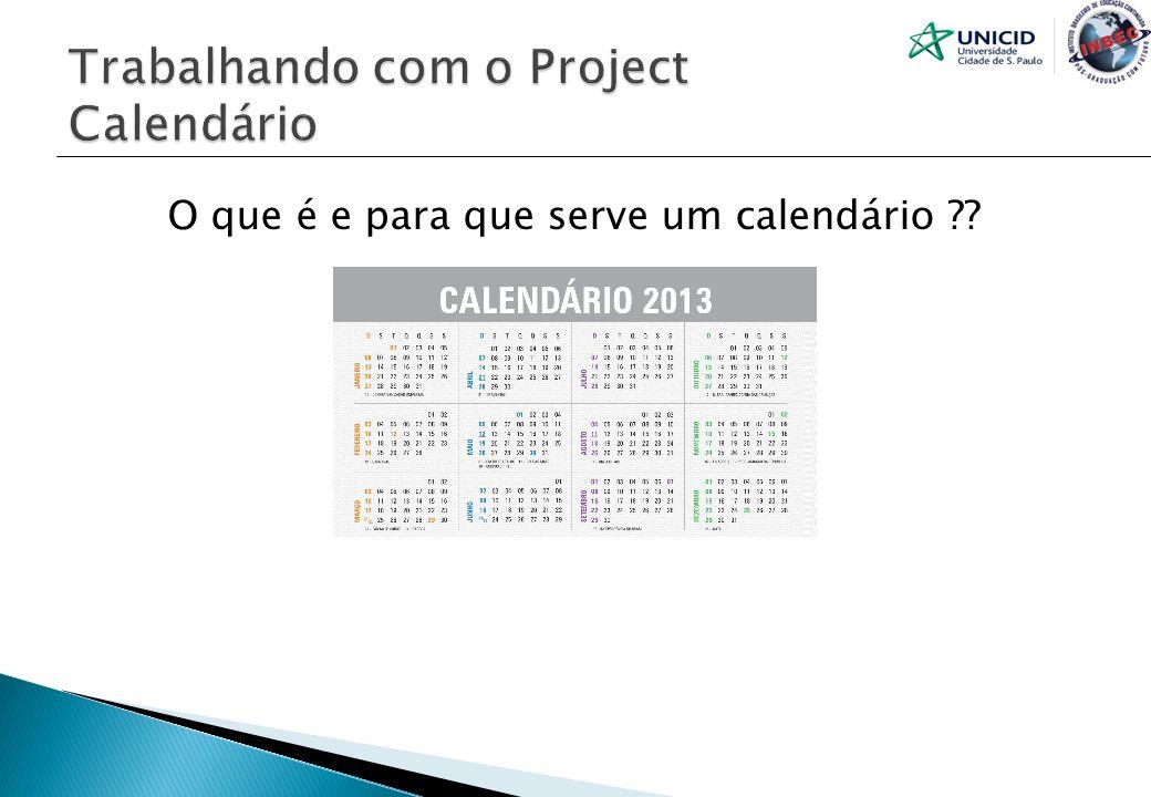O que é e para que serve um calendário ??