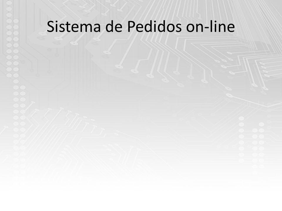 Sistema de Pedidos on-line
