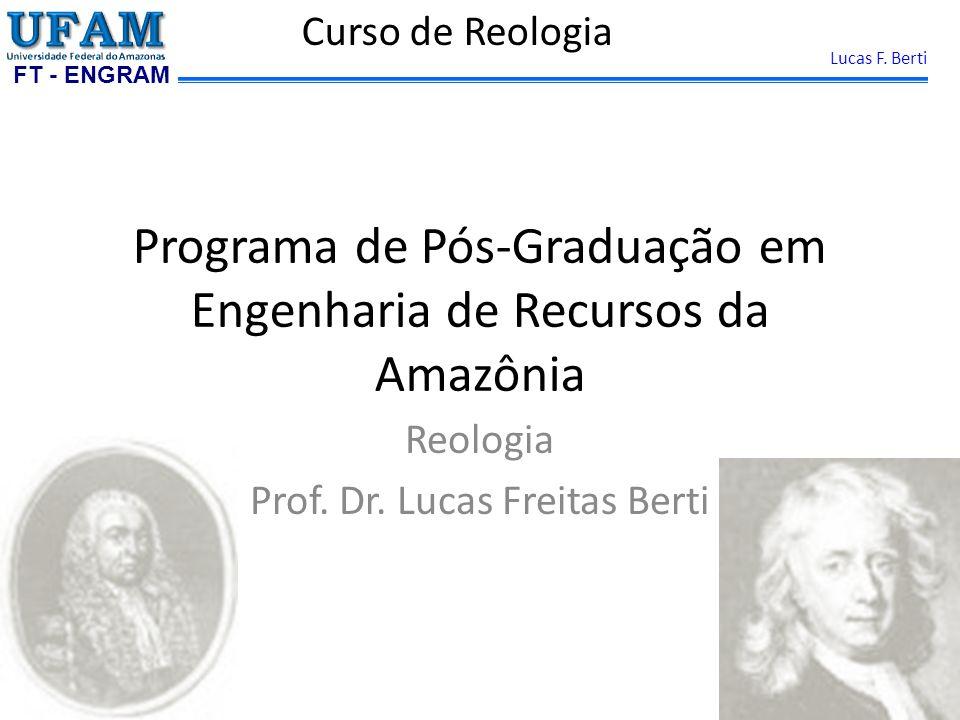 FT - ENGRAM Lucas F. Berti VARIÁVEIS Modulo elástico Modulo elástico