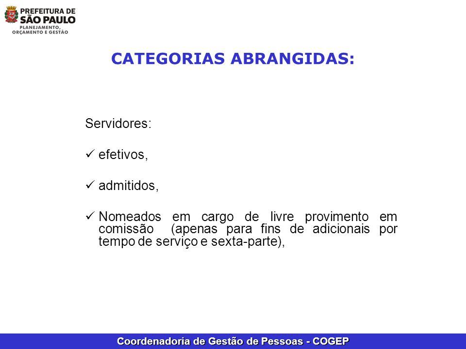 Coordenadoria de Gestão de Pessoas - COGEP PODEM SER AVERBADOS OS PERÍODOS CONCOMITANTES COM: licença para tratar de interesses particulares (LIP), de períodos até 10/08/2005 (Art.