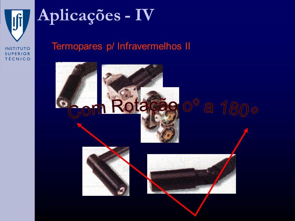 Aplicações - IV Termopares p/ Infravermelhos II