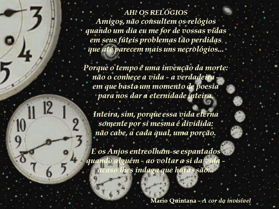 Nasci em Alegrete, em 30 de julho de 1906 Creio que foi a principal coisa que me aconteceu. E agora pedem-me que fale sobre mim mesmo. Bem eu sempre a