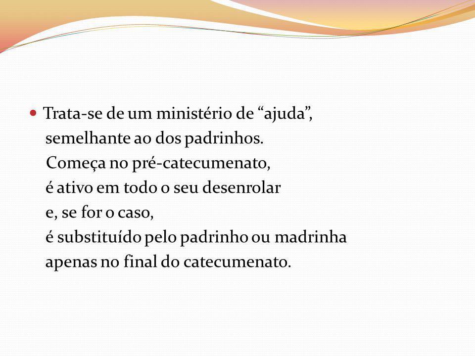 T EMPO DE MISTAGOGIA Último tempo da iniciação (n.