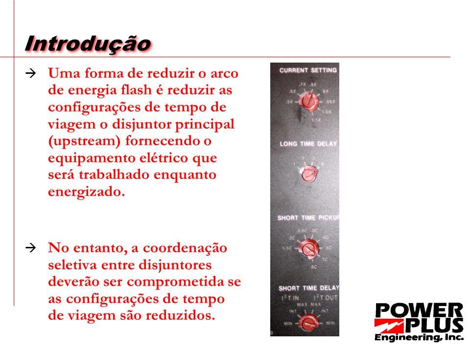 A redução do risco Se uma falha ocorreu agora, o dispositivo viagem AC-PRO no disjuntor principal atuaria como se fosse um dispositivo de viagem em um sistema ZSI que não recebeu um sinal de qualquer dispositivo viagem a jusante.