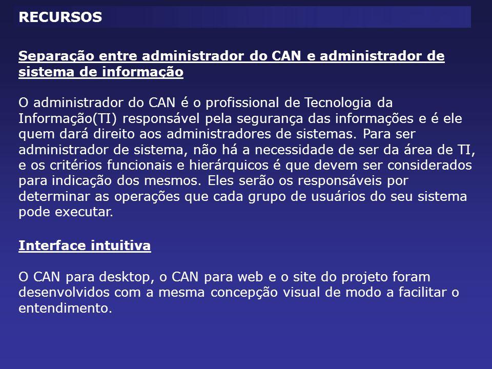 CONTROLE DE SESSÃO Usuários logados(sessão ativa) nos sistemas.