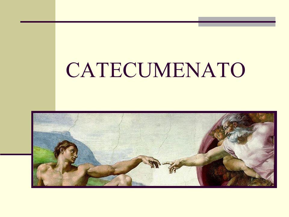 Agenda da apresentação 1.Os diretórios; 2. A palavra Catecumenato; 3.