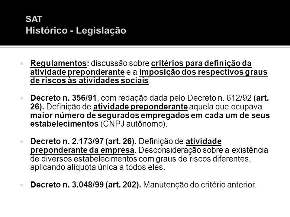 Art.22, inc. II, da Lei n. 8.212/91, com a redação dada pela Lei n.