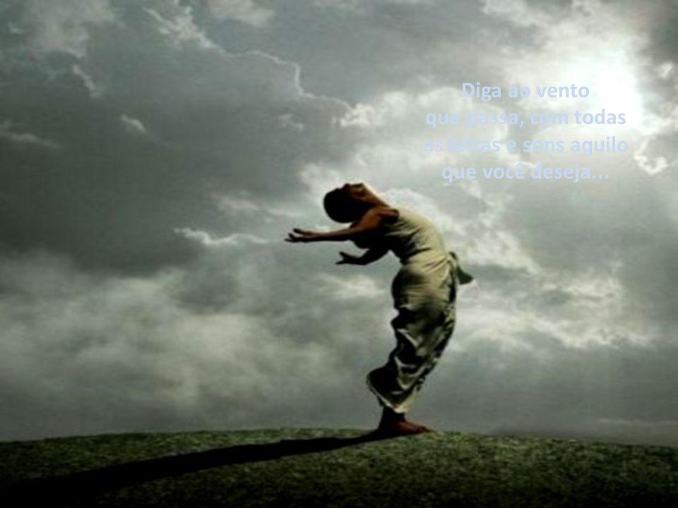 Faça um minuto de silêncio pela dor, enterre agora o seu passado. Viva o presente que podemos transformar mude o futuro que se abre agora.