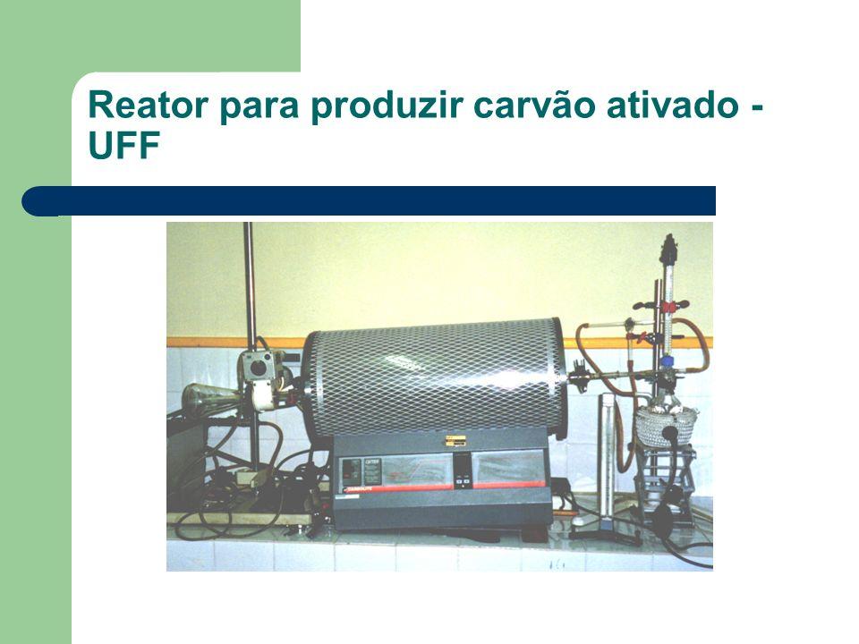 Reator para produzir carvão ativado - UFF