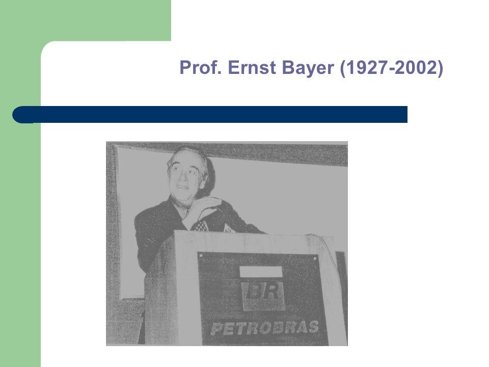 Prof. Ernst Bayer (1927-2002)