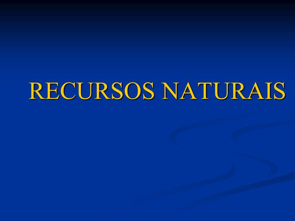 RENOVÁVEISNÃO RENOVÁVEIS São todos os elementos do meio natural que, se o homem os souber preservar, poderão ser inesgotáveis.
