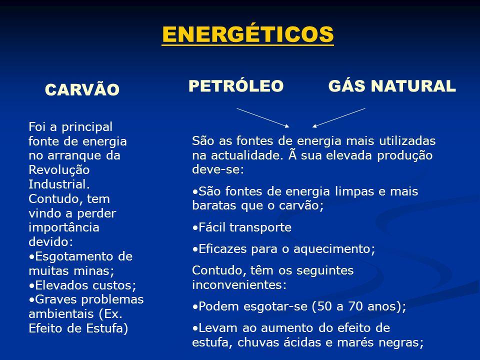 ENERGÉTICOS É o tipo de energia mais utilizada pelas populações que habitam nas áreas rurais dos países em vias de desenvolvimento.
