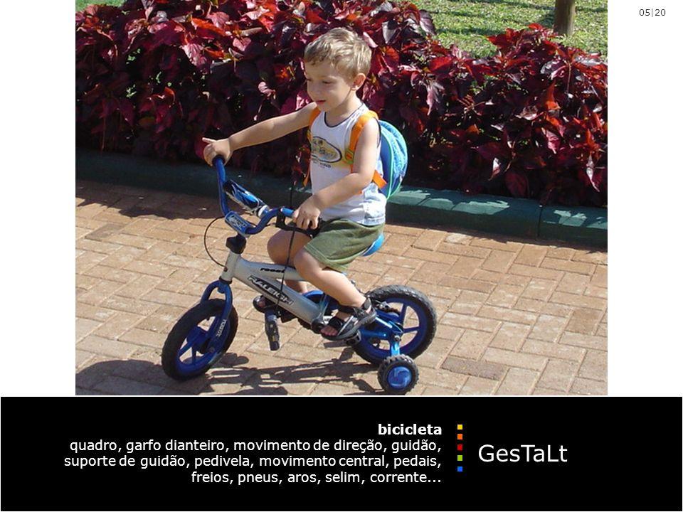 bicicleta quadro, garfo dianteiro, movimento de direção, guidão, suporte de guidão, pedivela, movimento central, pedais, freios, pneus, aros, selim, corrente...