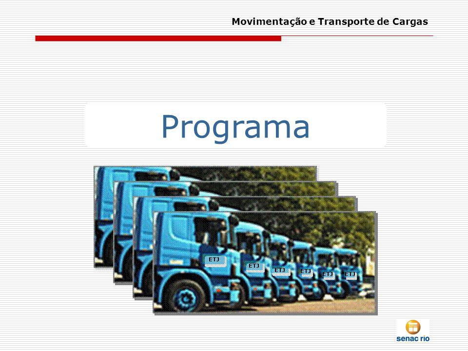 Movimentação e Transporte de Cargas – Sessão 11 Fonte: Jornal Mensal do Setrans – Sindicato das Empresas de transportes de Carga do ABC, ed.