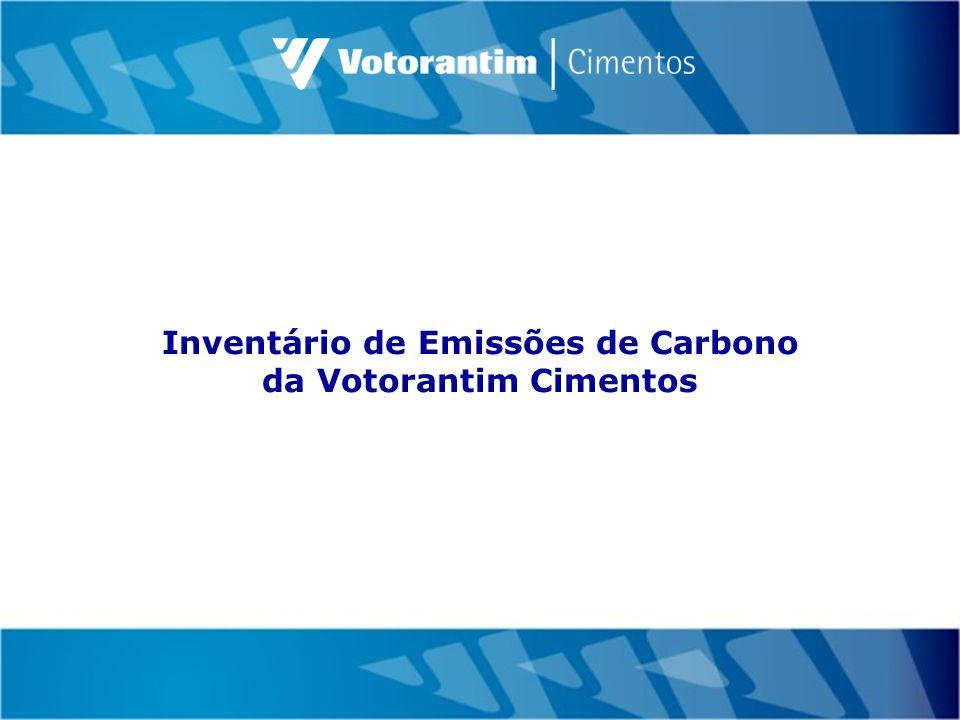 Inventário de Emissões de Carbono da Votorantim Cimentos