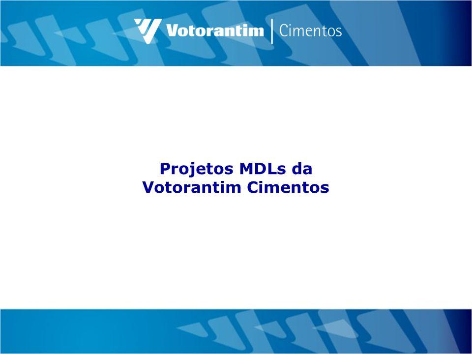 Projetos MDLs da Votorantim Cimentos