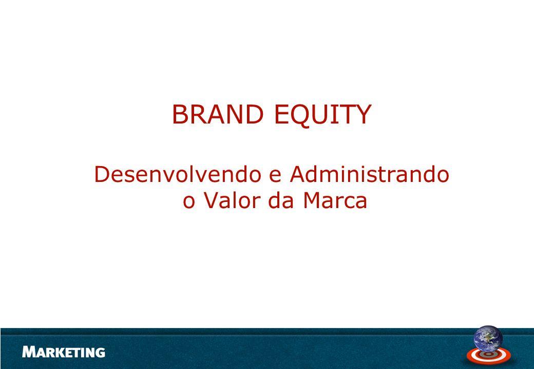 BRAND EQUITY Desenvolvendo e Administrando o Valor da Marca