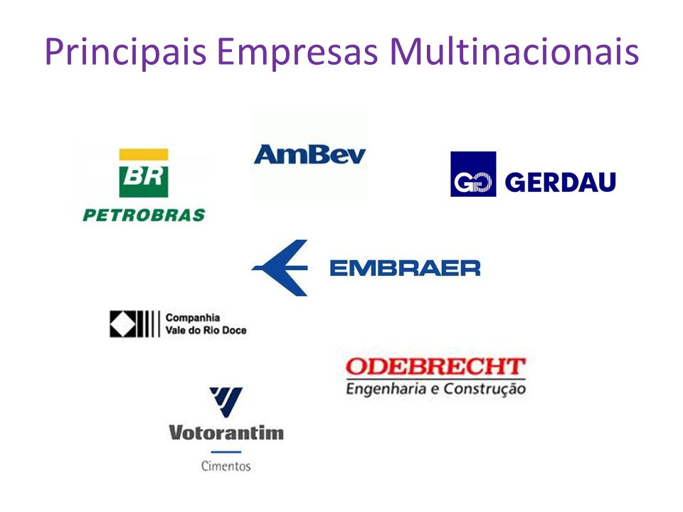 Principais Empresas Multinacionais