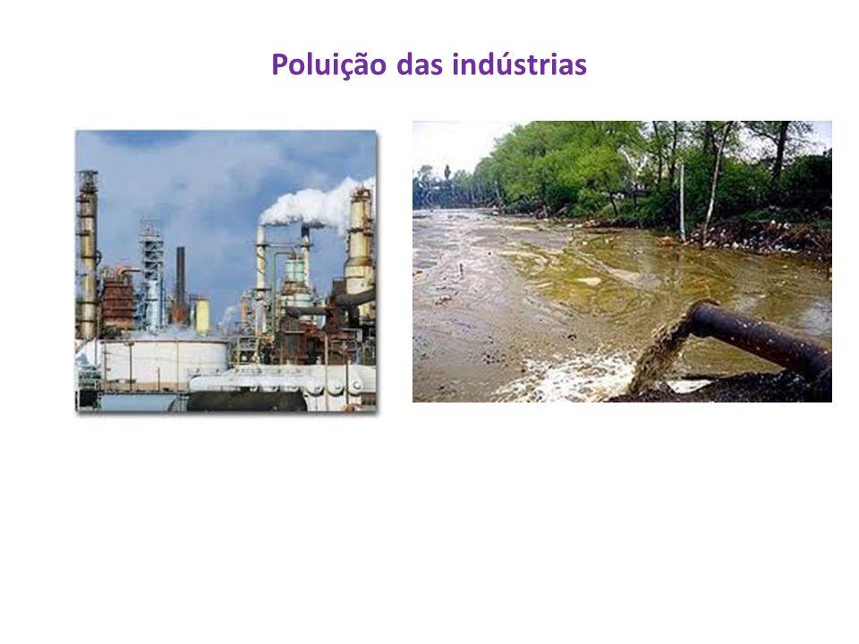 Poluição das indústrias