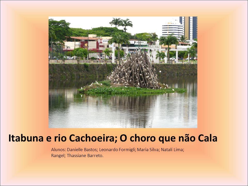 Itabuna e rio Cachoeira; O choro que não Cala Alunos: Danielle Bastos; Leonardo Formigli; Maria Silva; Natalí Lima; Rangel; Thassiane Barreto.