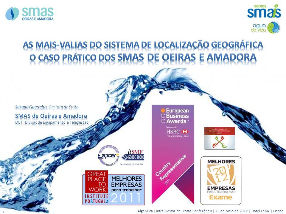 Algébrica | Intra Gestor de Frotas Conferência | 23 de Maio de 2012 | Hotel Fénix | Lisboa