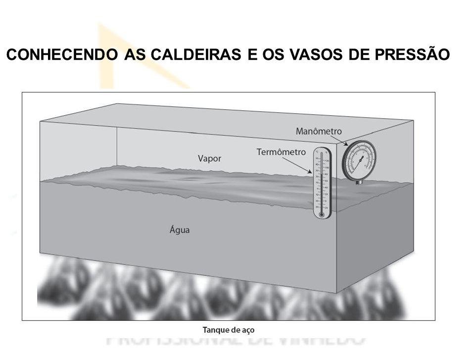 CONHECENDO AS CALDEIRAS E OS VASOS DE PRESSÃO