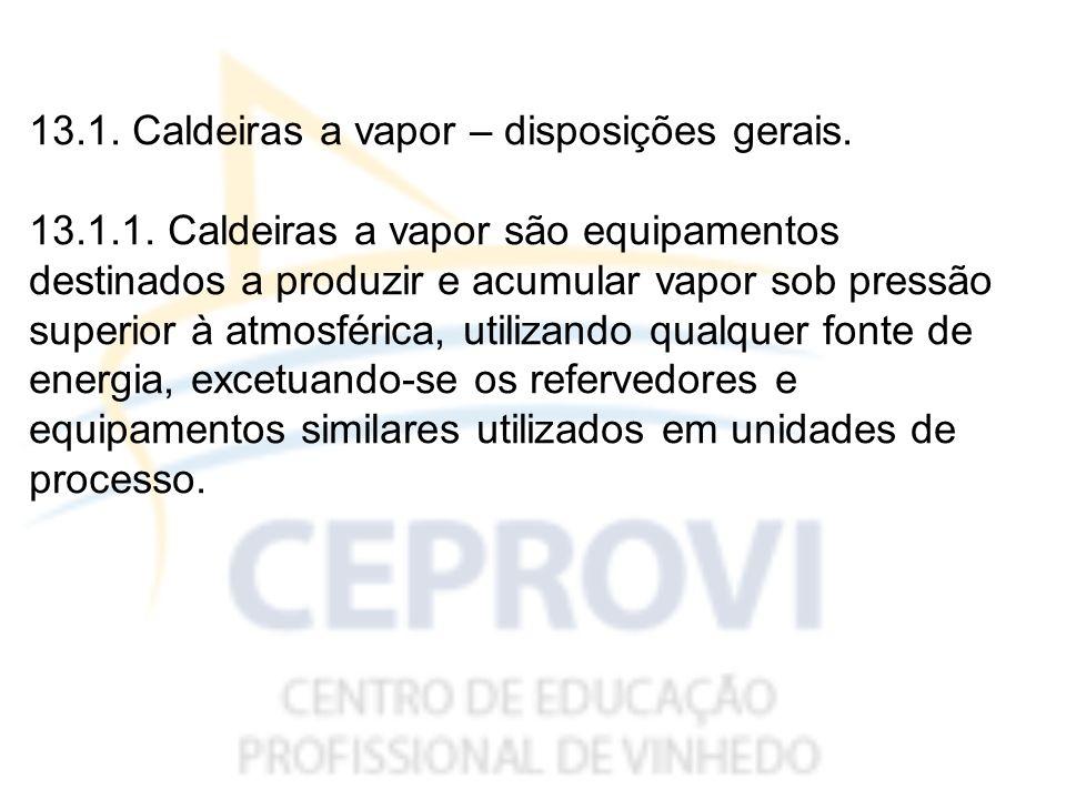 EXEMPLO CLÁSSICO DE CALDEIRA