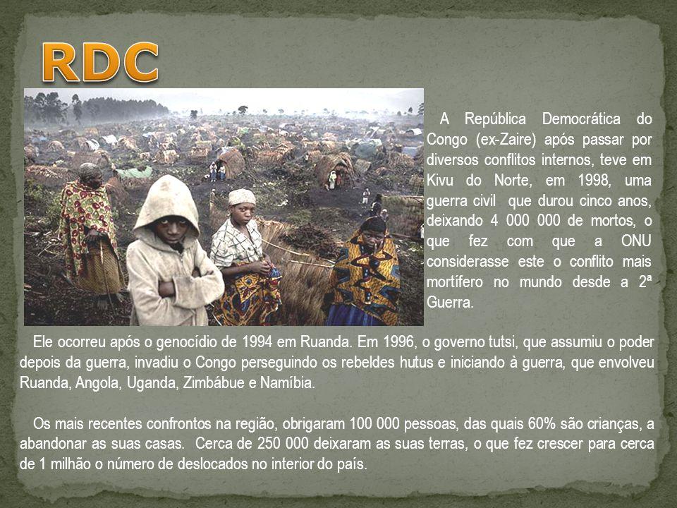 Ele ocorreu após o genocídio de 1994 em Ruanda. Em 1996, o governo tutsi, que assumiu o poder depois da guerra, invadiu o Congo perseguindo os rebelde