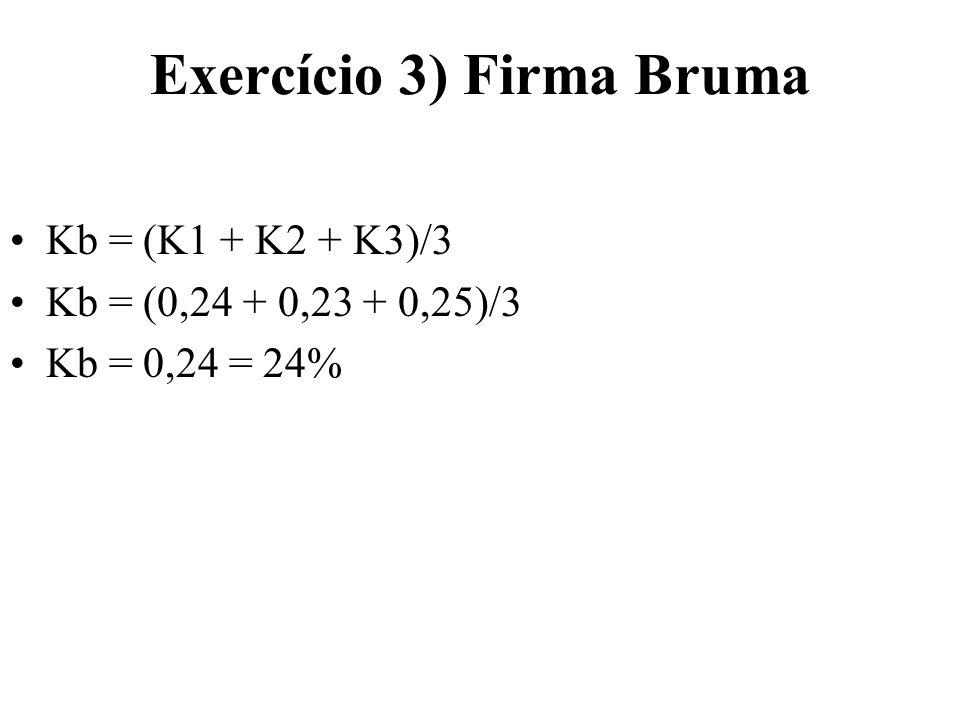 Exercício 4) Completar.....