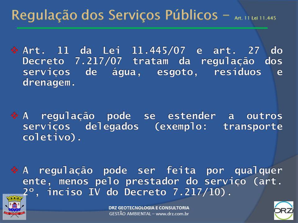 DRZ GEOTECNOLOGIA E CONSULTORIA GESTÃO AMBIENTAL – www.drz.com.br