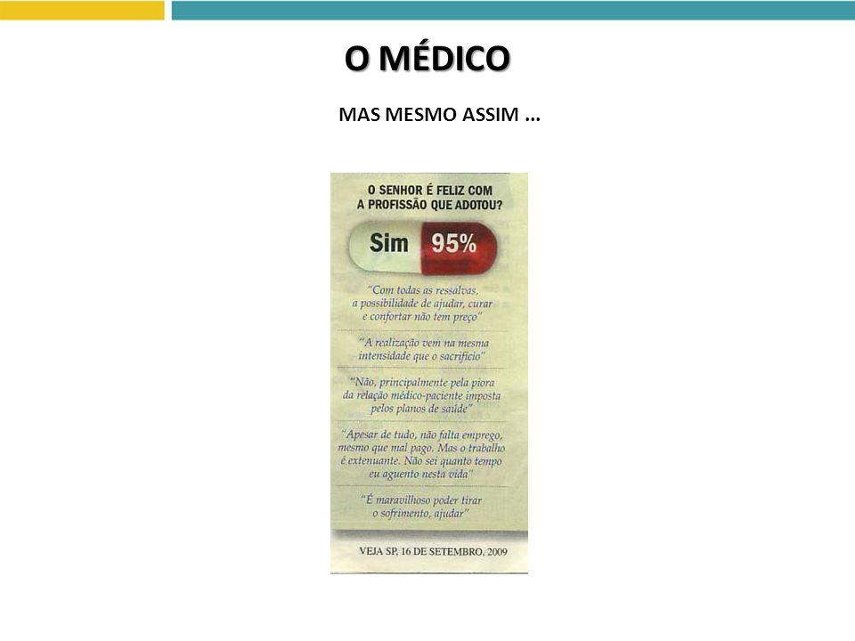 O MÉDICO MAS MESMO ASSIM...